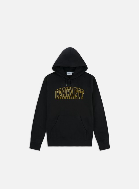 Outlet e Saldi Felpe con Cappuccio Carhartt WIP Hooded Theory Embroidery Sweatshirt