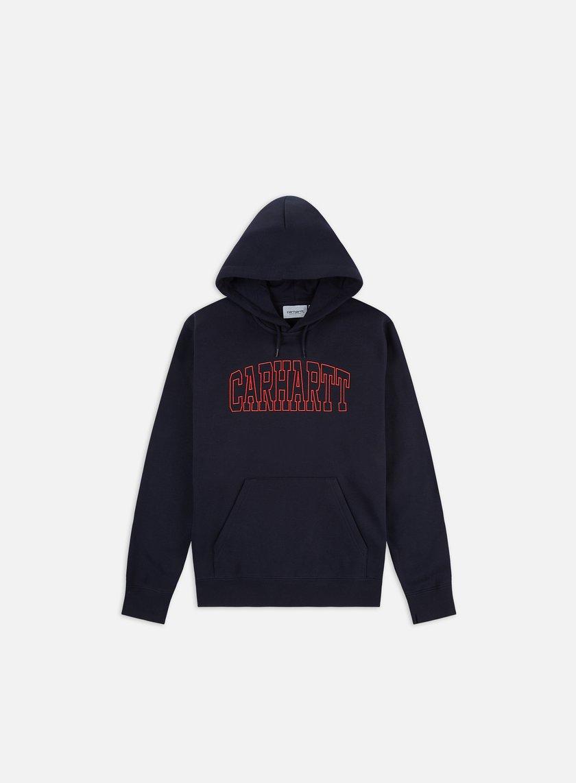 Carhartt WIP Hooded Theory Embroidery Sweatshirt