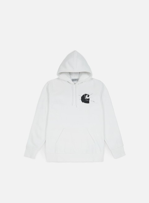 Outlet e Saldi Felpe con Cappuccio Carhartt WIP Mirror Hooded Sweatshirt