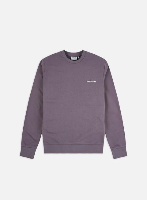 Crewneck Carhartt WIP Script Embroidery Sweatshirt