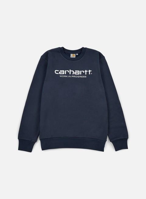 Outlet e Saldi Felpe Girocollo Carhartt WIP Wip Script Sweatshirt