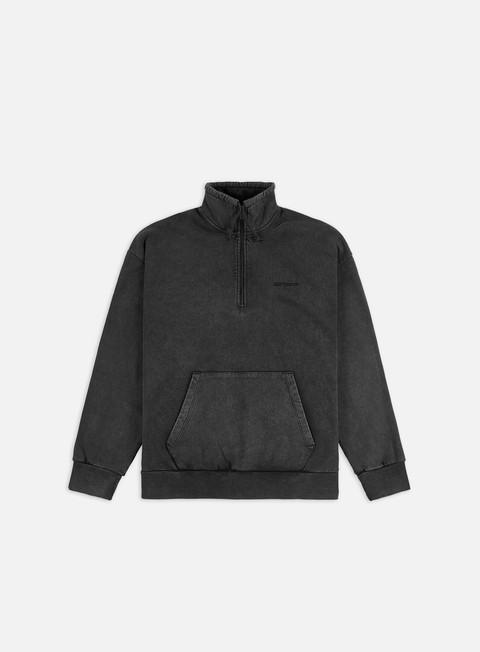 Zip Sweatshirts Carhartt WIP WMNS Mosby Script Highneck Sweatshirt