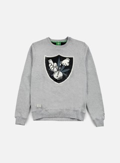 Cayler & Sons - 420 Crewneck, Grey Heather/Black/Grey 1