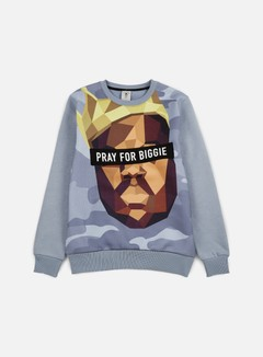 Cayler & Sons - Bigasso Crewneck, Heather Grey/Multi 1