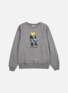 Cayler & Sons - CHMPGN DRMS Crewneck, Grey/Multi 1