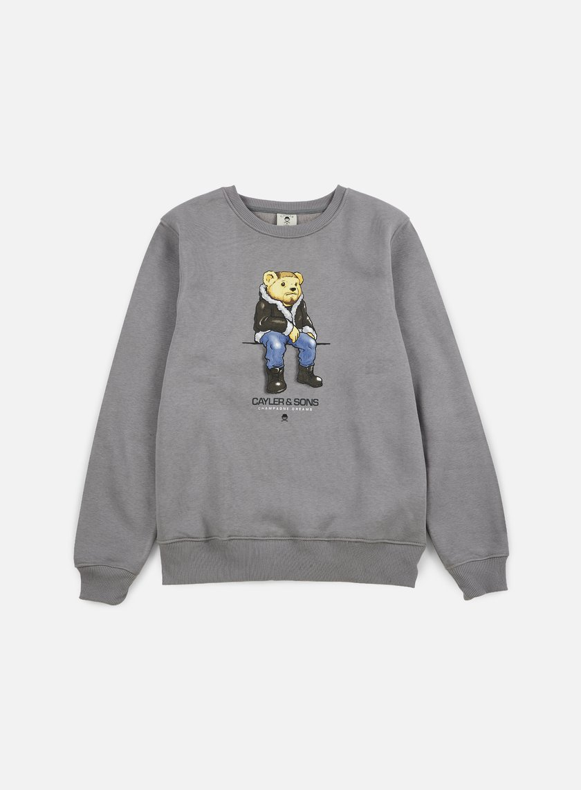 Cayler & Sons - CHMPGN DRMS Crewneck, Grey/Multi