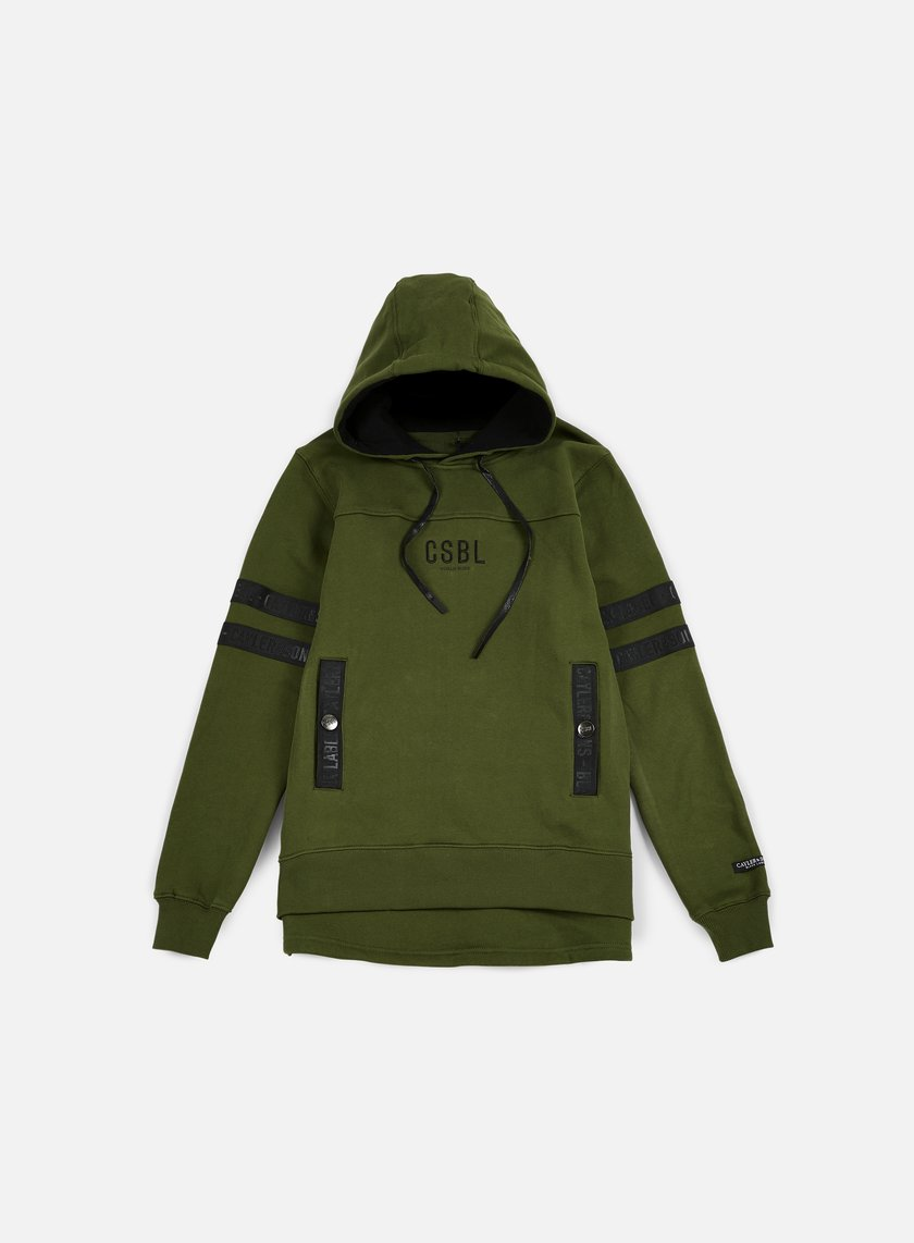 Cayler & Sons - Judgement Day Hoody, Olive/Black