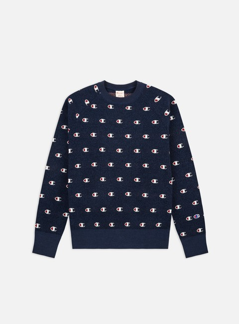 Maglioni e Pile Champion All Over C Logo Sweater