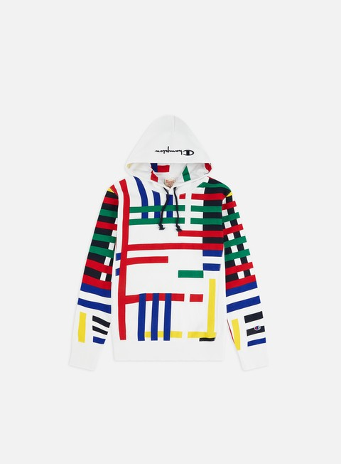 Sale Outlet Hooded Sweatshirts Champion All Over Print Hoodie