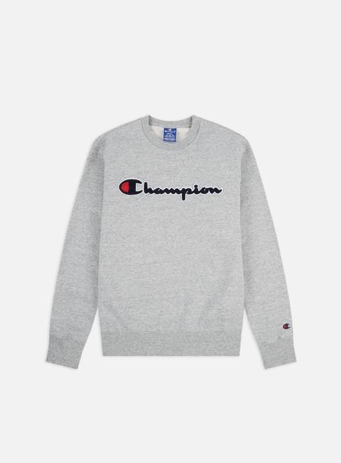 Outlet e Saldi Felpe Girocollo Champion Chenille Logo Crewneck