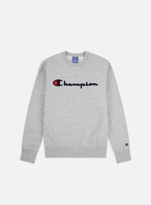 Felpe Girocollo Champion Chenille Logo Crewneck