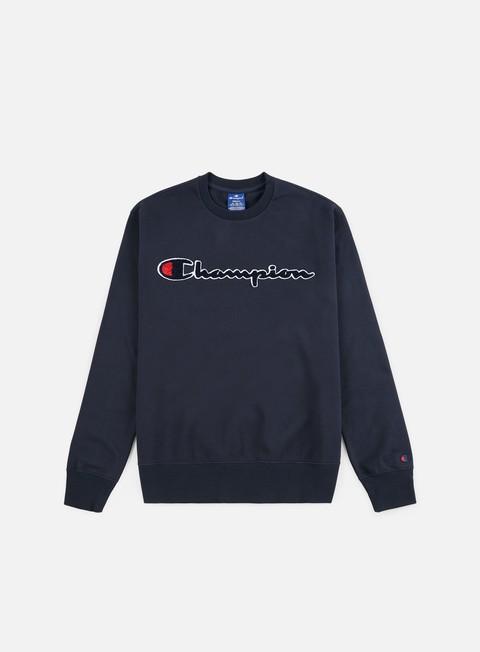Logo Sweatshirts Champion Chenille Logo Crewneck