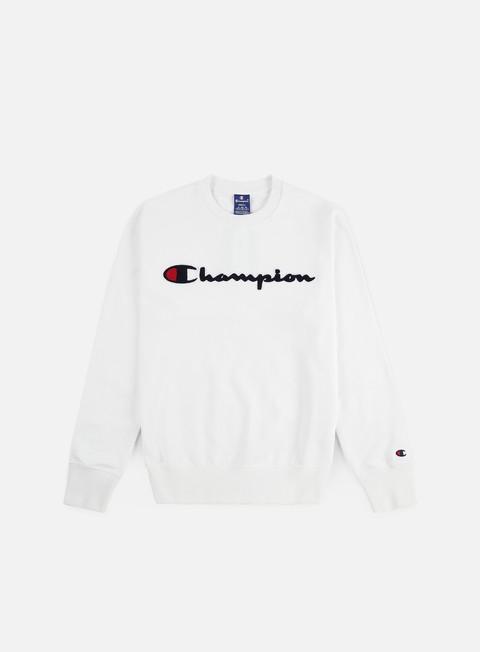 Crewneck Sweatshirts Champion Chenille Logo Crewneck