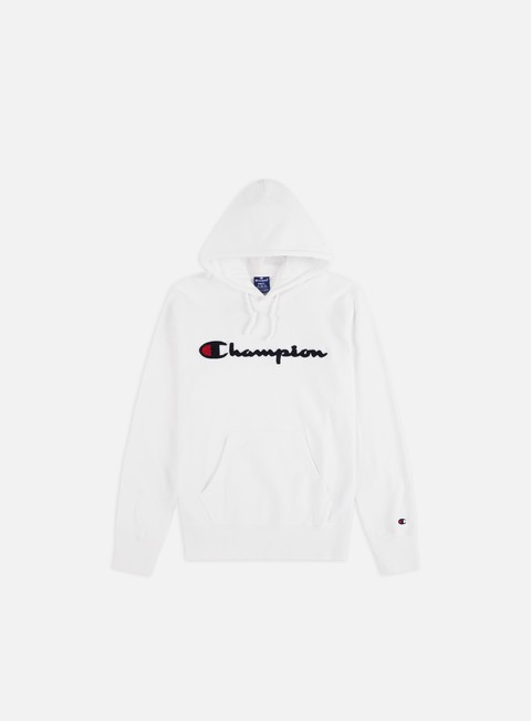 Sale Outlet Hooded Sweatshirts Champion Chenille Logo Hoodie