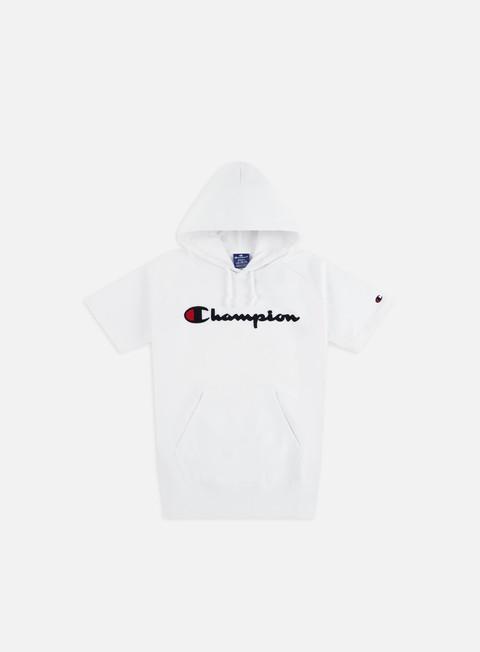Outlet e Saldi Felpe con Cappuccio Champion Chenille Logo SS Hoodie