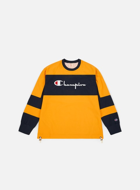 Felpe Girocollo Champion Colour Block Script Logo Crewneck