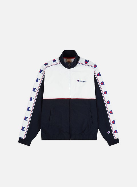 Outlet e Saldi Track Top Champion Colour Block Taped Track Top