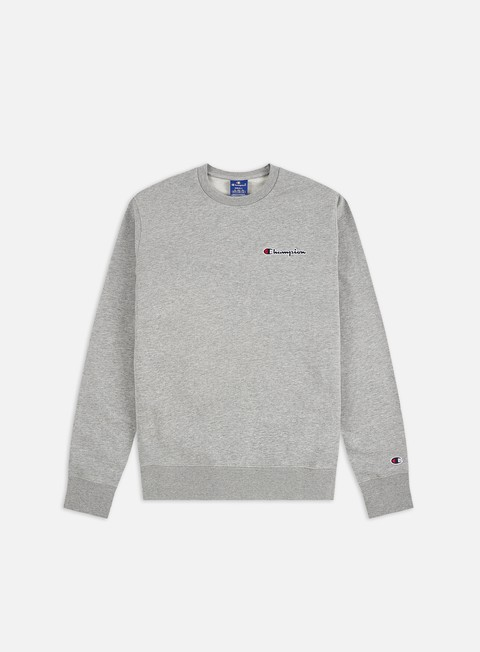 Outlet e Saldi Felpe Girocollo Champion Embroidered Logo Crewneck
