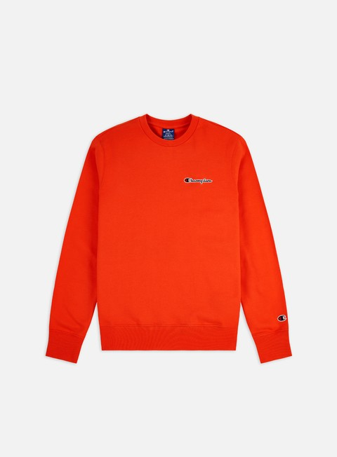Felpe Girocollo Champion Embroidered Logo Crewneck