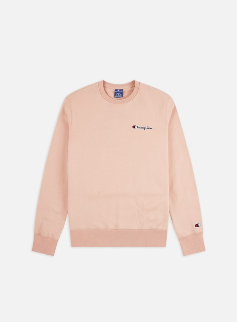 Crewneck Sweatshirts Champion Embroidered Logo Crewneck