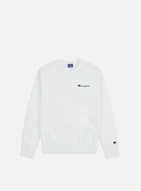 Champion Embroidered Logo Crewneck
