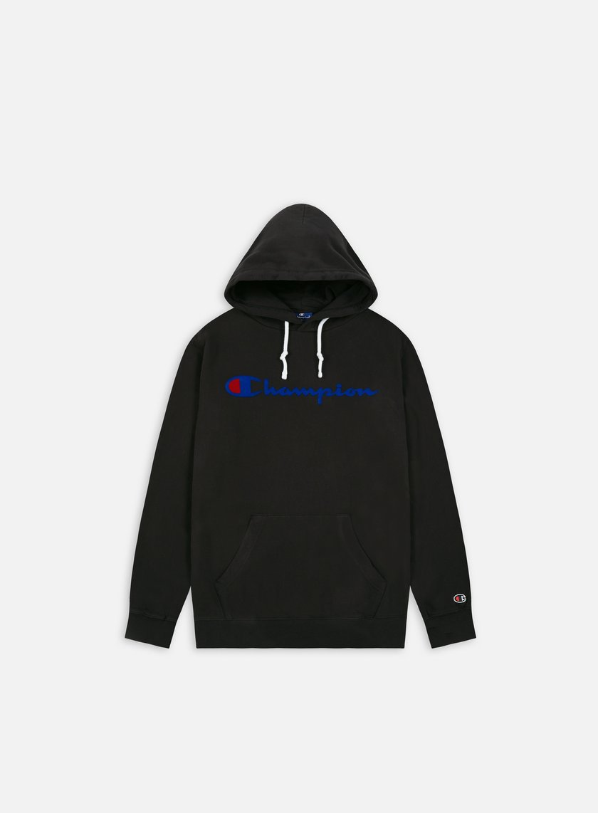 Champion Garment Washed Timeless Flock Hoodie