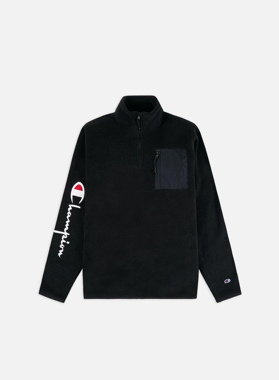Champion Half Zip Pocket Fleece