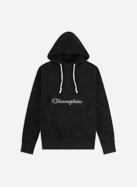 Champion Half Zip Top Fleece Hoodie