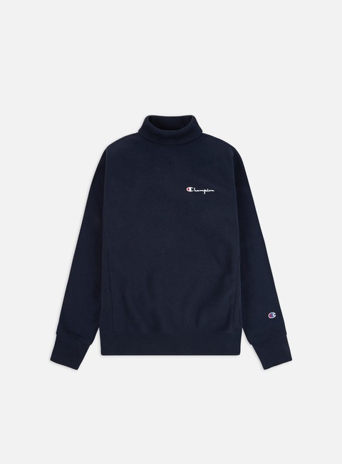 Outlet e Saldi Felpe Logo Champion High Neck Sweatshirt
