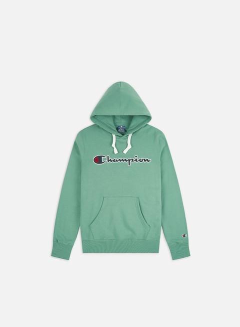 Outlet e Saldi Felpe con Cappuccio Champion Large Embroidered Logo Hoodie
