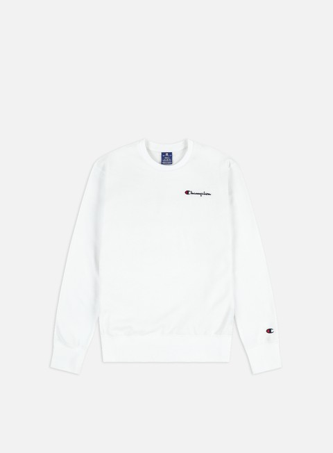 Champion Logo Chest Embroidery Crewneck