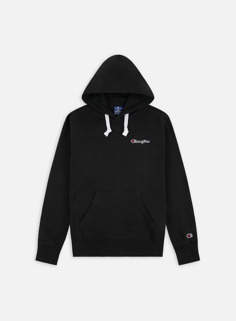 Champion Logo Chest Embroidery Hoodie