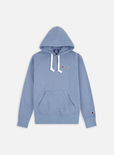 Hooded Sweatshirts Champion Logo Chest Embroidery Hoodie