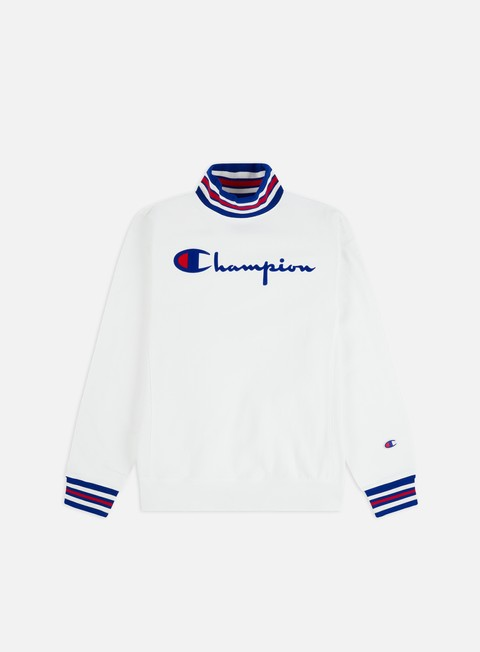 Outlet e Saldi Felpe Logo Champion Logo High Neck Sweatshirt