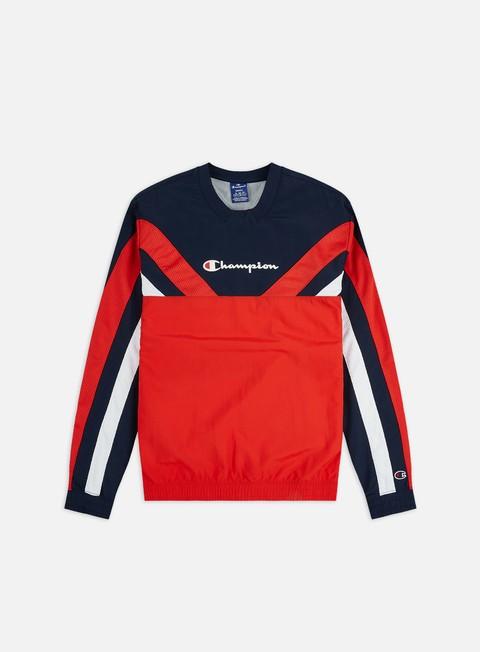 Sale Outlet Crewneck Sweatshirts Champion Mesh Inserts Crewneck
