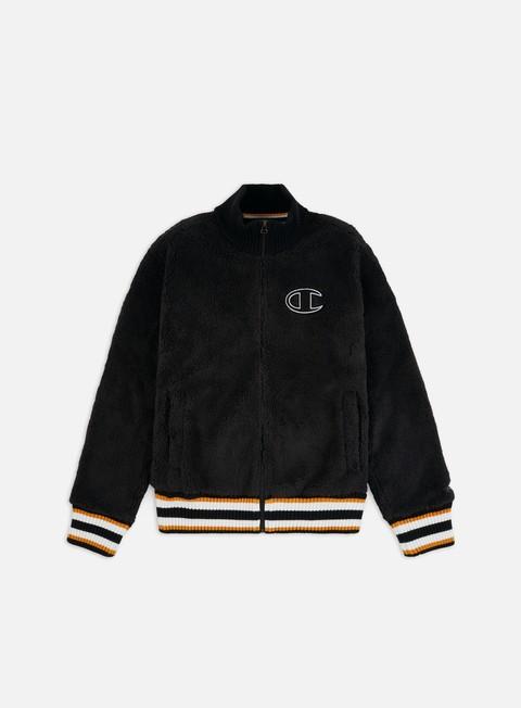 Felpe con Zip Champion Polar C Logo Full Zip Sweatshirt