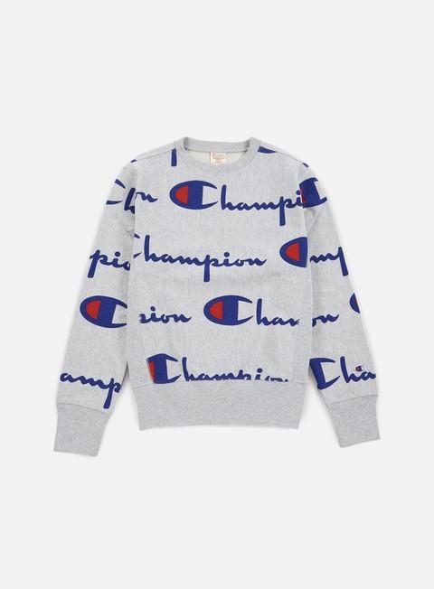 Crewneck Sweatshirts Champion Reverse Weave Allover Crewneck