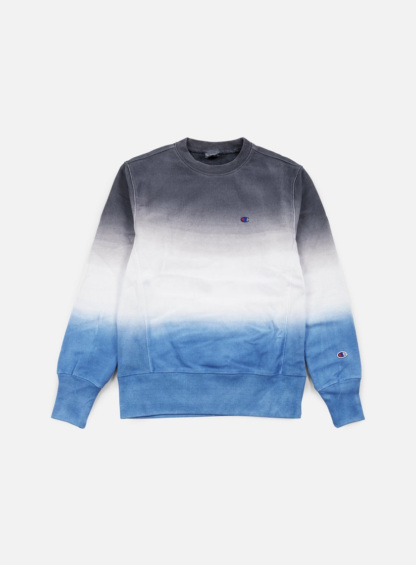 Champion - Reverse Weave Gradient Terry Crewneck, Navy