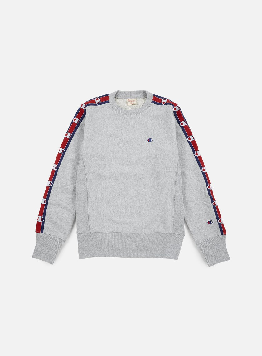 Champion - Reverse Weave Terry Crewneck 90s, Heather Grey
