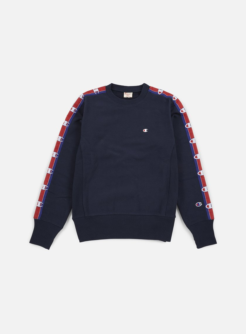 Champion - Reverse Weave Terry Crewneck 90s, Navy