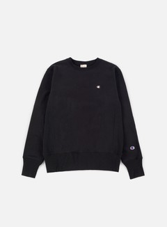 Champion - Reverse Weave Terry Crewneck, Black 1