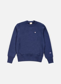 Champion - Reverse Weave Terry Crewneck, Blue