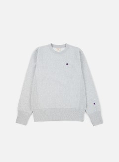 Champion - Reverse Weave Terry Crewneck, Heather Grey 1