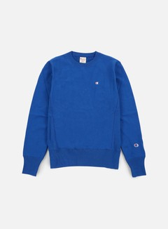 Champion - Reverse Weave Terry Crewneck, Light Blue