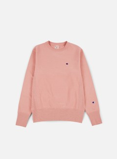 Champion - Reverse Weave Terry Crewneck, Pink 1
