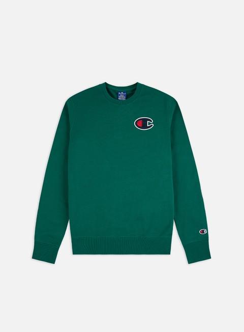 Logo Sweatshirts Champion Satin C Logo Crewneck