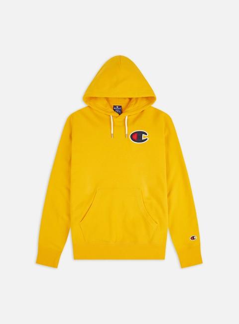 Hooded Sweatshirts Champion Satin C logo Hoodie