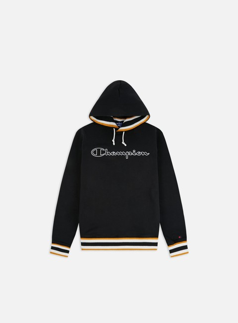 Sale Outlet Hooded Sweatshirts Champion Script Logo Ribbed Hoodie