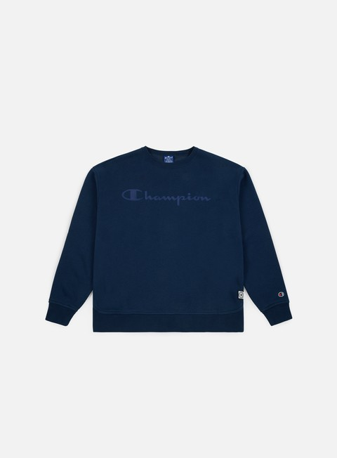 Champion Soft Carded Reverse Fleece Crewneck