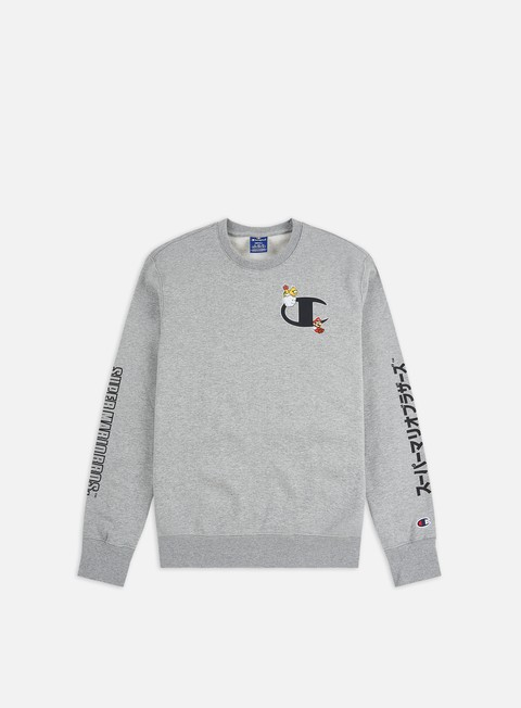 Crewneck Sweatshirts Champion Super Mario Bros Crewneck